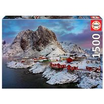 Puzzle 1500 islas lofoten, noruega - 04017976