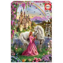 Puzzle 500 hada y unicornio - 04017985