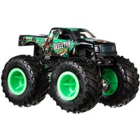 Hot wheels monster trucks 1:24 skeleton crew - 24573694