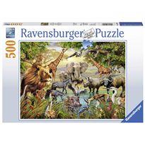 Puzzle 500 grandes animales