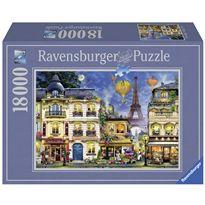 Puzzle 18000 paseo nocturno paris