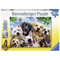 Puzzle 300 selfie perros - 26913228