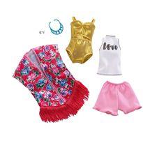 Barbie pack de 2 modas flecos - 24569280