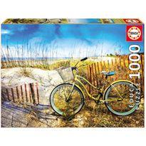Puzzle 1000 bicicleta en las dunas