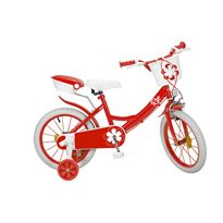 "Bicicleta 16"" colors roja"