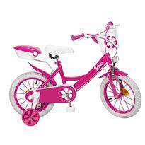 """Bicicleta 14"""" colors rosa"""