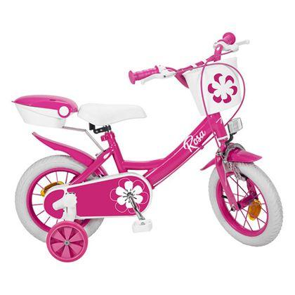 """Bicicleta 12"""" colors rosa - 34312019"""