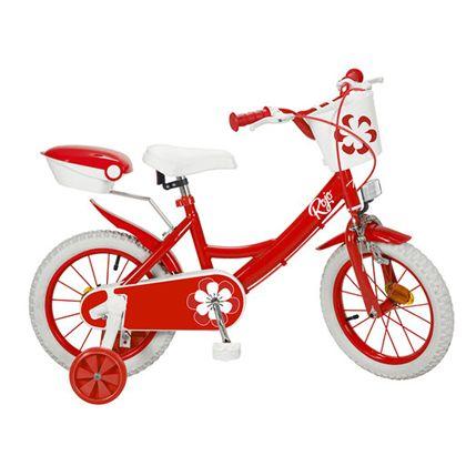 """Bicicleta 14"""" colors roja - 34314124"""