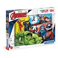 Puzzle 104 piezas avengers