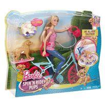 Bici de barbie y sus perritos