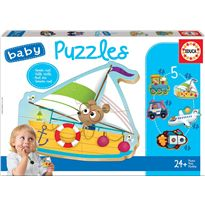 Puzzle infantil vehiculo 2 - 04018059