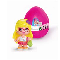 Pinypon huevo sorpresa rosa