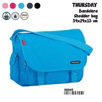 Bandolera pr thursday azul