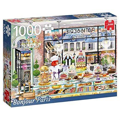 Puzzle 1000 bonjour paris - 09518807
