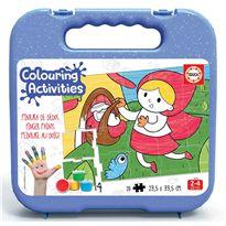 Actividades de pintar caperucita roja - 04018210