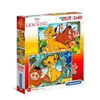 Puzzle 2x60 lion king