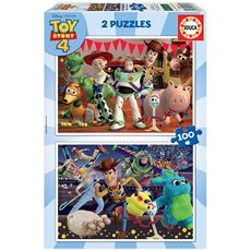 Puzzle 2 x 100 toy story