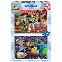 Puzzle 2 x 100 toy story - 04018107