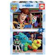Puzzle 2 x 48 toy story