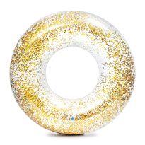Flotador transparente glitter - 90756274