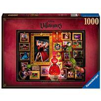 Puzzle 1000 reina de corazones villanos de disney - 26915026