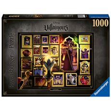 Puzzle 1000 jafar aladdin villanos de disney