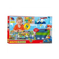 Set blocks car + tapiz 12 piezas - 26519457
