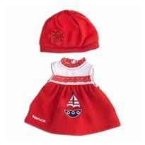 Nenuco ropita casual vestido rojo