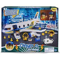 Pinypon action- emergencia en el avión