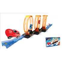 Pista looping con 2 coches - 87805272
