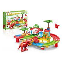 Blocks set 80 piezas pista dinosaurios - 87805320