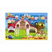 Granja infantil con animalitos - 92330835