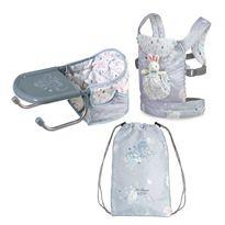 Set de viaje trona, portabebe y mochila martin - 48260029