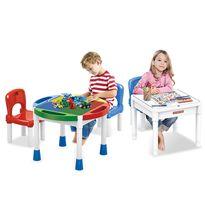 Mesa con bloques 3 en 1 y dos sillas - 94701640