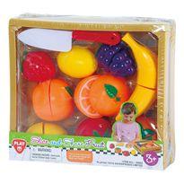 Caja madera frutas 11 piezas - 96530003