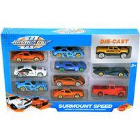 Caja 10 coches metal - 94200230