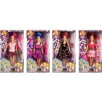 4 muñecas con 21 accesorios - 87805298