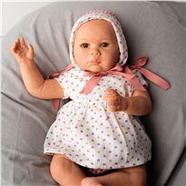 Reborn mia con corazones rosas 48cm - 58778090