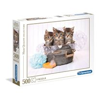 Puzzle 500 kittens - 06635065