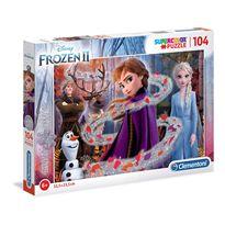 Puzzle 104 frozen 2 - 06620162
