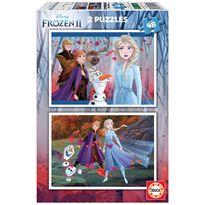 Puzzle 2 x 48 frozen 2 - 04018110