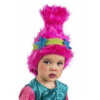 Cm129 peluca troll niña con diadema - 57151290