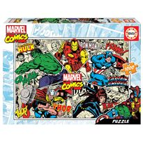 Puzzle 1000 marvel comics