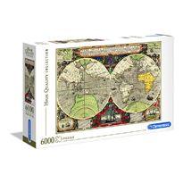 Puzzle 6000 antique nautical - 06636526