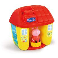 Cubo casita peppa pig con bloques suaves - 06617346
