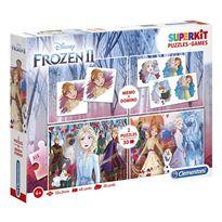 Superkit frozen puzzles memo y domino - 06620241