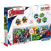 Superkit avengers puzzles memo y domino - 06620209