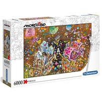 Puzzle 6000 mordillo the kiss - 06636527