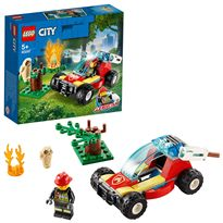 Incendio en el bosque lego city - 22560247