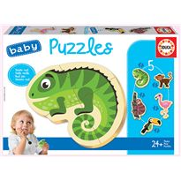 Puzzle animales tropicales - 04018587